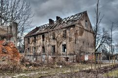 Old ruined building. Stock Photo