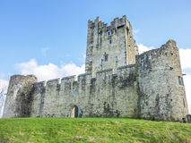 Old Ruined Castle On The Lake Royalty Free Stock Images