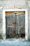 Old ruined doors. Old vintage ruined doors in realy bad condition Stock Photo
