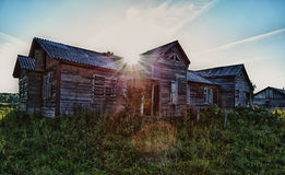 Old ruined farmhouse Royalty Free Stock Images
