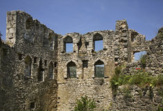 Old ruined  fortress in Pocitelj. Bosnia and Herzegovina Stock Photos