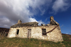 Old ruined house. An old ruined and abandoned house Royalty Free Stock Image