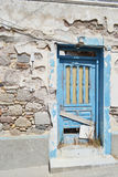 Old ruined house in Kefalos Stock Photos