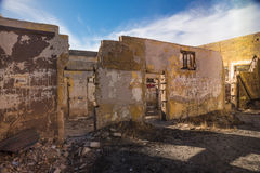 Old Ruined House. Old ruined remainder of a house Royalty Free Stock Photo