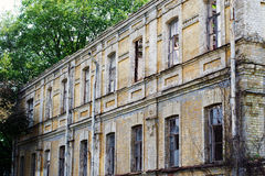 Old ruined house Royalty Free Stock Photos