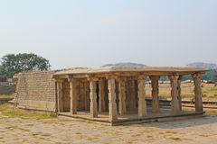 Old and ruined Indian temple, Hampi, India Stock Image