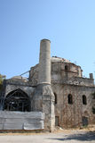Old ruined mosque in Rhodes Stock Images
