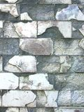 Old ruined tiled wall Royalty Free Stock Photos