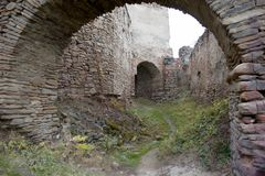 Old ruined walls Stock Photo