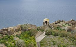 Old ruines of castelsardo Royalty Free Stock Images