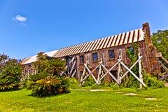 Old ruinous historic hut in an old South Carolina farm Royalty Free Stock Image