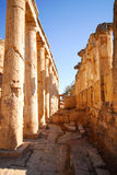 Old ruins. Ancient ruins of ancient city on a background the sky Royalty Free Stock Images