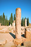 Old ruins. Ancient ruins of ancient city on a background the sky Stock Images