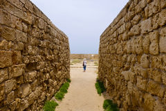 Old ruins of Acre, Israel Royalty Free Stock Photos