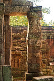 Old ruins Angkor Wat Stock Photography
