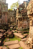 Old ruins Angkor Wat Royalty Free Stock Photography