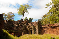 Old ruins Angkor Wat Royalty Free Stock Photos
