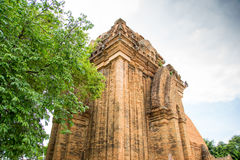 Old ruins of a Buddhist temple Royalty Free Stock Photos