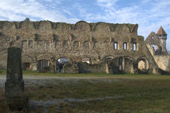 Old ruins of a castel Royalty Free Stock Photos