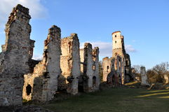 Old ruins of Castle Royalty Free Stock Photo