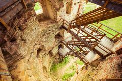 Old ruins Stock Photography