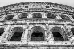 Old ruins of colosseum in rome Royalty Free Stock Images