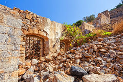 Old Ruins on the Crete. Royalty Free Stock Photo