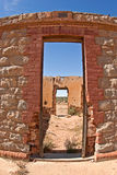 Old ruins in the desert Royalty Free Stock Photography