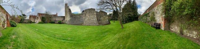 Old ruins in Farnham royalty free stock image