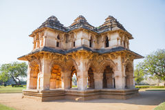 Old ruins of Hampi, Karnataka Royalty Free Stock Image