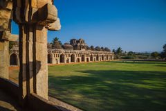 Old ruins of Hampi, Karnataka Royalty Free Stock Photos