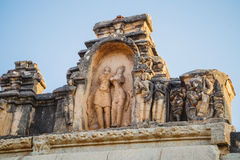 Old ruins of Hampi, Karnataka Stock Images