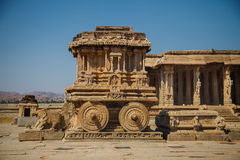Old ruins of Hampi, Karnataka Stock Image