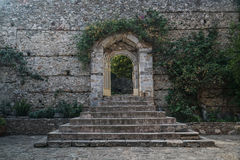 The old Ruins of Mystras Stock Photos