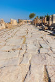 Old ruins at Pamukkale Turkey Stock Image