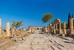 Old ruins at Pamukkale Turkey Royalty Free Stock Photos