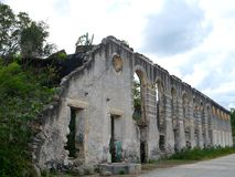 Old ruins  ranch architecture mexico yucatan Stock Images