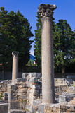 Old ruins in Salona, Croatia. Archaeology background Stock Photo