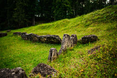 Old ruins Stock Images