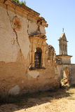Old ruins of Sassia Monastery Royalty Free Stock Image