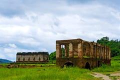 Old ruins on season Stock Photography