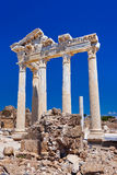 Old ruins in Side, Turkey Stock Image