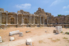 Old ruins in Side Royalty Free Stock Images