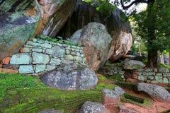 Old Ruins of Sigiriya Castle Stock Photography