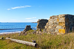 Old ruins in Tasmania Royalty Free Stock Photography