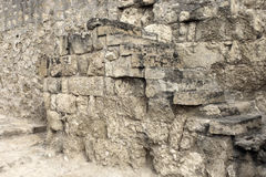 Old ruins wall Royalty Free Stock Photo