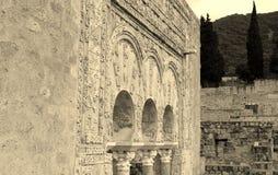 Old ruins wall Stock Image