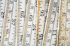 Old ruler royalty free stock photo