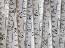 Old ruler Stock Image