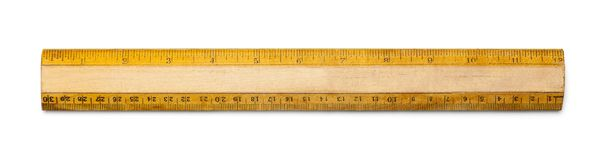 Old Ruler royalty free stock images